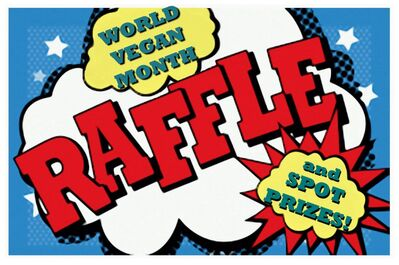 Image. World Vegan Month Raffle and Spot Prizes
